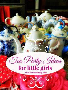 Tea Party Ideas for Little Girls via Curb Alert! Blog http://www.curbalertblog.com/2014/03/tea-party-ideas-for-little-girls.html