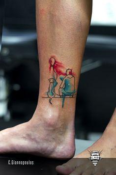 Ink Lab Tattoo, Tattoo, inked, ink, dog, tattoo with dog