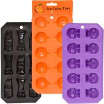 Look at the pumpkins - They' re a ten-frame! Halloween Ice Cube Trays at DollarTree.com