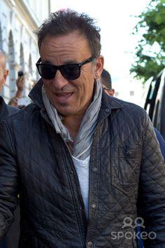 Bruce Springsteen. arriving at his hotel. Gothenburg, Sweden - 25.07.12.