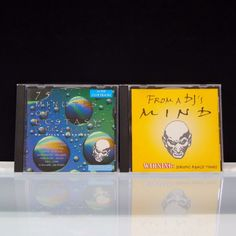 2 CD Lot From A DJ's Mind 75 Min Of Ecstasy 1997 MadBob Productions England  #Trance