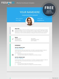 Vesterbro  Free Nature Resume Template  Tropical Fishes  Modern