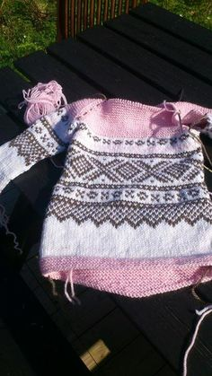 Marius-osloanorakk Baby Knitting, Knit Crochet, Sewing, Barn, Sweaters, Kids, Crafts, Inspiration, Clothes