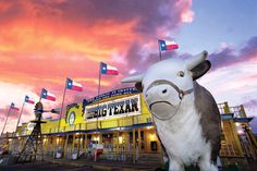 The Big Texan!! I swear I could do the challenge after sundance! lol