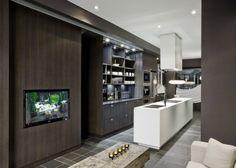 Modern Block Townhouse Interior by Cecconi Simone