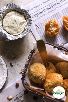 Boursin, Camembert Cheese, Comme, Bento And Co, Muffin, Breakfast, New Cooking, French Food, Vegan Recipes