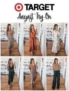 Office Work Outfits from Target Mom Outfits, Casual Fall Outfits, Fashion Outfits, Women's Summer Fashion, Autumn Fashion, Target Clothes, Target Outfits, Jogger Pants Style, Snake Print Dress
