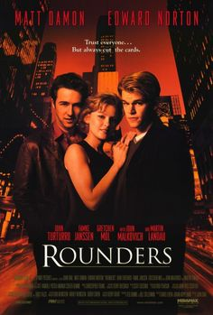 Rounders 27x40 Movie Poster (1998)