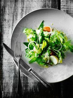 Fresh Ramson and Spring Herb Salad Recipe