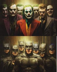 If you were making a Batman movie, which Batman would you pick for your movie and which Joker would… Batman Poster, Batman Artwork, Batman Comic Art, Joker Batman, Joker Art, Gotham Batman, Batman Robin, Joker Images, Joker Pics
