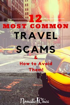 Did you ever heard or was a victim of any travel scam?  Check it out here to be aware and this not happen to you!!