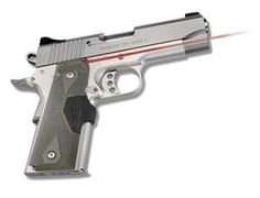 Colt commander 1911 with crimson trace. Not bad for a 100 year old.