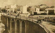 "The Bridge ""over the ravine"", built in 1836, by the will of Ferdinand II of Bourbon... #polignanomadeinlove #polignanolovers #weareinpuglia #puglialways #inpuglia365 #oldbridge #polignanoamare"