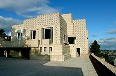 Ennis House - Los Angeles, CA - Blade Runner, House on Haunted Hill, The 13th Floor