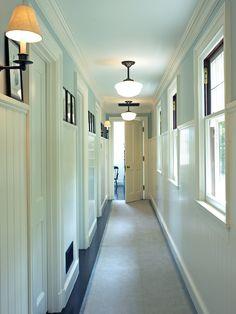 narrow hall decor