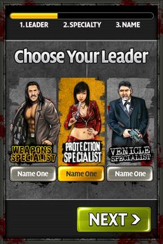 Mafia Hero - Choose Leader
