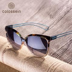 COLOSSEIN Cat Eye sunglasses women brand designer 2018 Hot sale sun glasses for women Oculos De Sol outdoor eyewear