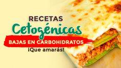 3 Recetas cetogénicas bajas en carbohidratos Que amarás! Low Carb Recipes, Diet Recipes, Vegan Recipes, Cooking Recipes, Sin Gluten, Cooking Time, Ketogenic Diet, Atkins, Food And Drink