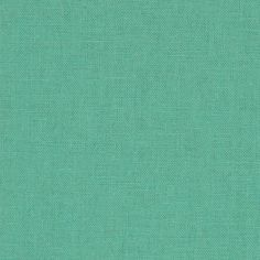 Kaufman Essex Linen Blend Medium Aqua from @fabricdotcom  From Robert Kaufman Fabrics, this lightweight (5.3 oz. per square yard) linen has a luxurious hand with a full-bodied drape. Perfect for fine linens, heirloom projects, blouses, shirts, fuller skirts & dresses, and light jackets. Machine wash gentle and dry on low for softness or dry clean to maintain original texture.