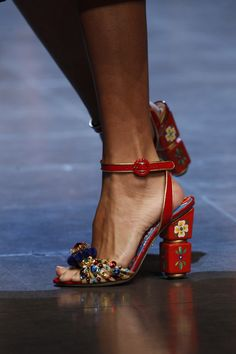 Dolce & Gabbana - Milan Fashion Week / Spring 2016 | @ shoes 1