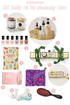 Holiday Gift Ideas for the Beauty Lover {these are perfect for your beauty-product-loving friend}