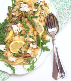 Allyouneedfresh & zitronige Pasta zur Einstimmung auf den Frühling