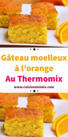 Soft orange cake with Thermomix - Cheesecake Recipes Quick Dessert Recipes, Quick Easy Desserts, Quick Easy Meals, Sweet Recipes, Turtle Cheesecake Recipes, Vanilla Recipes, Thermomix Desserts, Fondant, Food Cakes