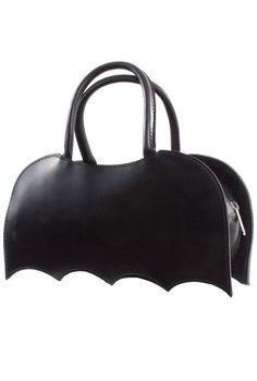 Bat Ma'am Latex Handbag