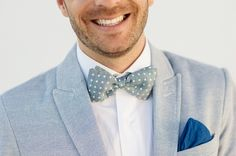 This is kind of cute. But something about this doesn't seem there yet....maybe the bow tie needs to be blue and the as well..? Help me out here!