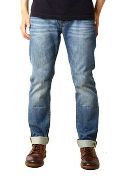 Edberth Shop Celana Jeans Pria - CornflowerBlue - 41