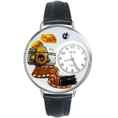 Photographer Watch in Silver (Large)