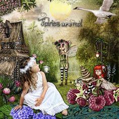 Believe In Fairies Angeliques Scraps   Paradisescrap: [ link ] Scrap from France: [ link ] DDR: [ link ]   photo by sheldevil