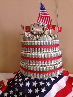 Marine Graduation Boot Camp Cake