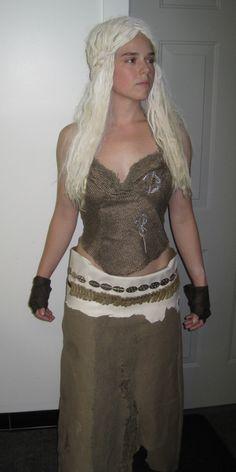 Daenerys costume for halloween!