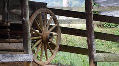 Wagon at Amis Mill.