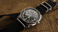 Amphibia 710512 mod by kraudara Vostok Watch, Best Mods, Vintage Rolex, Seiko, Omega Watch, Chronograph, Watches For Men, Style, Bracelet