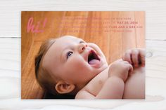 Baby Talk by Shari Margolin at minted.com
