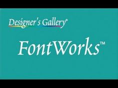 Introducing FontWorks from Designer's Gallery!