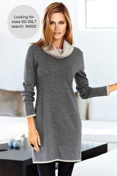 Capture Woman Knitted Tunic - EziBuy Australia