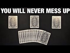 This is a fantastic no setup self working card trick that you will successfully perform all the time. I definitely recommend you give this one a try. Magic Tricks Videos, Magic Card Tricks, Cool Magic Tricks, Magic Cards, Projects For Kids, Kids Crafts, Card Tricks Revealed, Cool Card Tricks, Magic Illusions