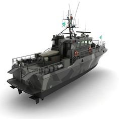 HMS Patrol Boat Model available on Turbo Squid, the world's leading provider of digital models for visualization, films, television, and games. Fast Boats, Speed Boats, Yacht Design, Boat Design, Naval Special Warfare, Utility Boat, Lego Army, Landing Craft, Boat Projects