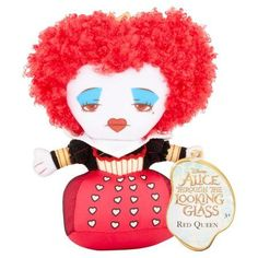 Disney Alice Through the Looking Glass Red Queen Plush 3+, Black