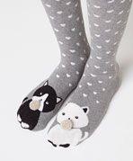 Calcetines gatos - OYSHO