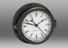 Patriot Deck Clock - White Dial