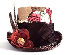 VictorianMadHatter-Brwon by dgalboutique.com