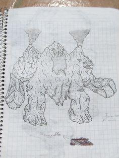 diseño de montaña-demonio