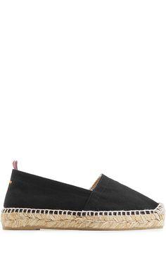 CASTAÑER Fabric Espadrilles. #castañer #shoes #flats