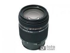 Obiective  Sony SAL DT 18-250mm f/3.5-6.3 FHS00003453 Obiectiv super zoom 13.8x special proiectat pentru aparatele reflex digitale format APS-C FOV... Super Zoom, Sony, Black Friday, 18th