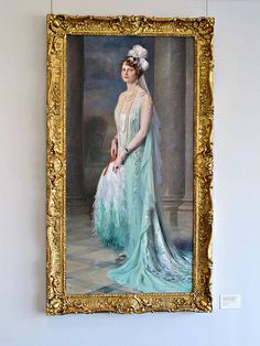 Portrait, Marjorie Merriweather Post, Hillwood Mansion IMG_0415 Hillwood Estate, Museum and Gardens, Washington, DC. The home of Marjorie Merriweather Post. Photograph by Roy Kelley. Roy and Dolores Kelley Photographs
