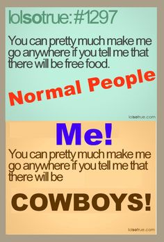 who care about free food when there is Cowboys!! :D